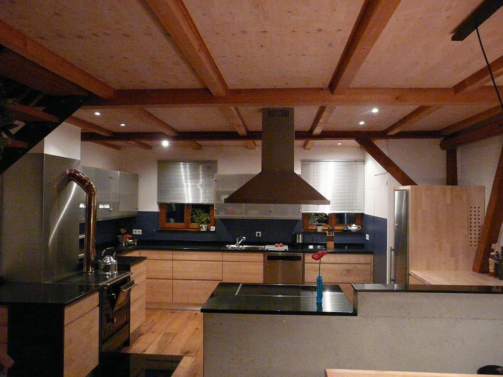 Küche Birke massiv