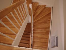 Treppe aus Eiche